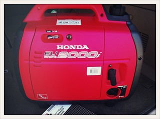 Honda generator purchased | by BWKP