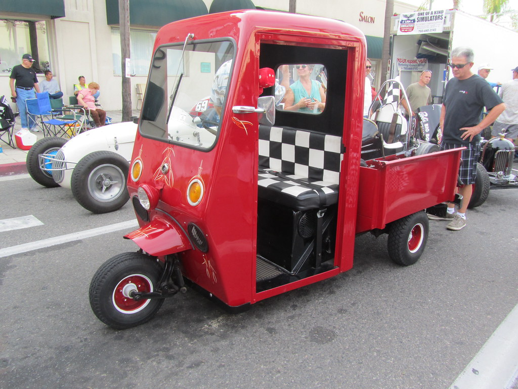 Buy WESTCOASTER MAILSTER FIRETRUCK, LIKE CUSHMAN. on 2040-motos