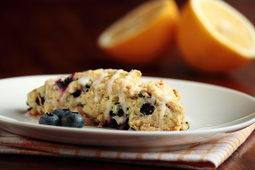 Lemon Blueberry Scone | by pastryaffair
