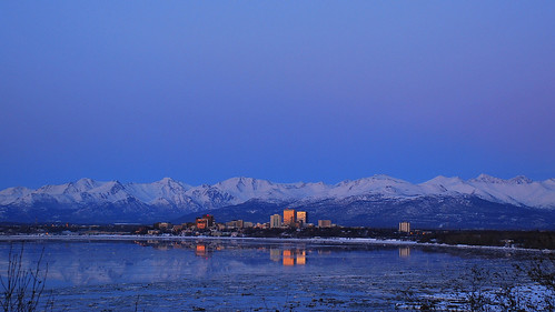 Anchorage Sunset 2010 | by MarculescuEugenIancuD5200Alaska