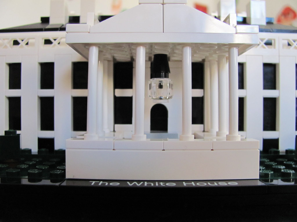 Lego 21006 The White House Markus Flickr Architecture Betroffenaufessen By
