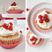 red currant cupcakes