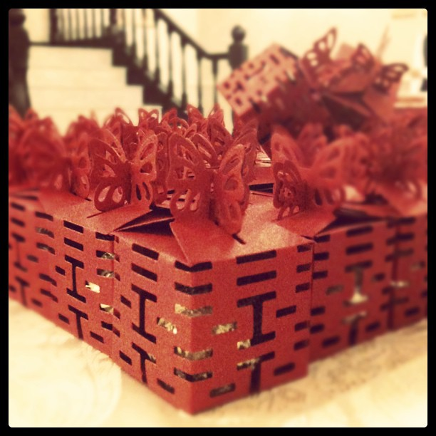 Chocolate For Wedding Door Gift : Lovely door gift with Ferrero Rocher #chocolate #gift #wedding # ...