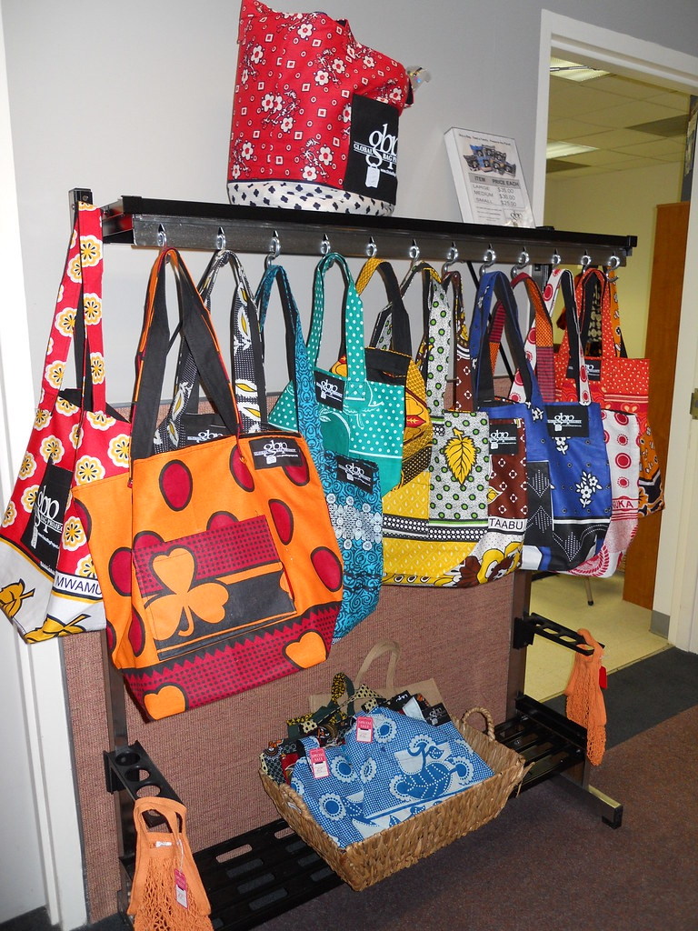 Trendy Handmade Baby Gifts : Handmade african tote bags made by the women of global bag