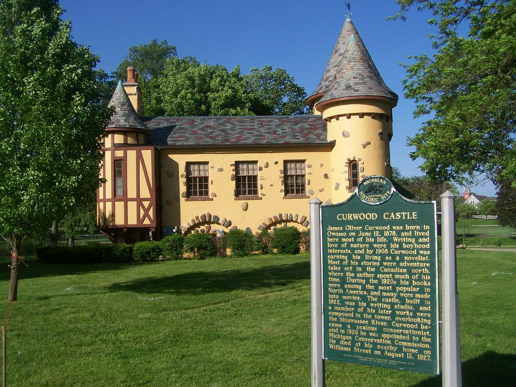 Curwood Castle Owosso Mi 6 Nrhp 71000420 Curwood