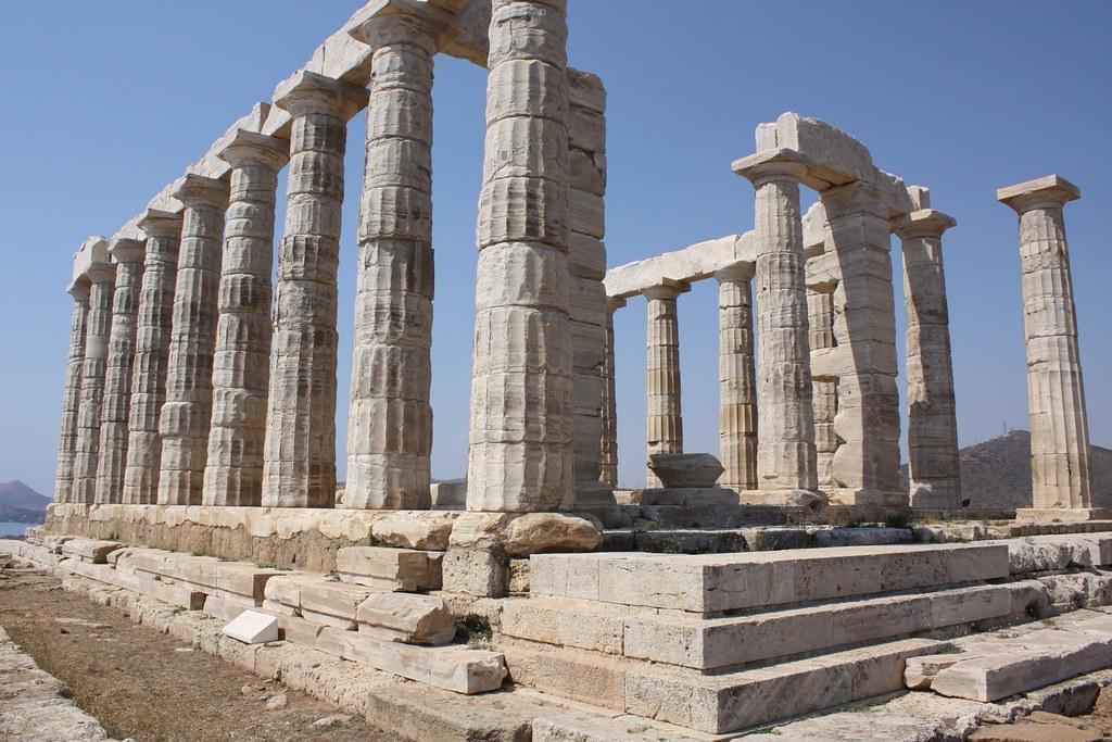ancient Greek temple of Poseidon   Pablo Torres   Flickr