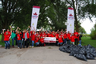 Molson Canadian Red Leaf Project/Great Canadian Shoreline Cleanup - TORONTO | by Molson Coors Canada