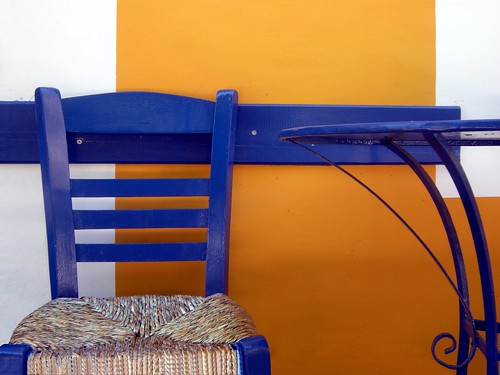 Blue chair - 2 - Koroni - Grecia | by lucy PA