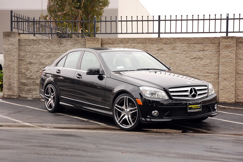 Avant garde m328 style gunmetal with machine face wheels for Mercedes benz c300 black rims