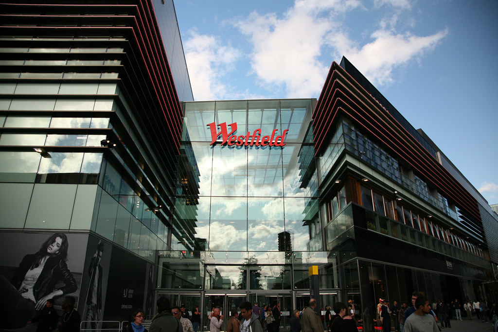 Westfield Stratford City shopping centre inside photo | Flickr