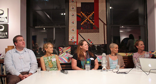 panel discussion on the Modern Quilting movement | by olive_and_ollie