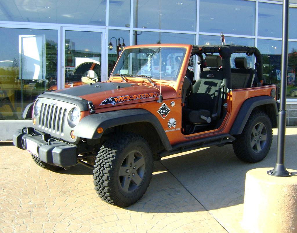 2010 Jeep Wrangler Mountain Edition Smitybilt Rock