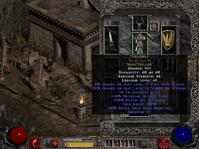 treachery rune word  diablo ii  lord of destruction