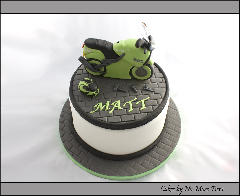 Cake Art Motorcycle Cake Pan : Motorbike cake Motorbike cake made for one of my most ...