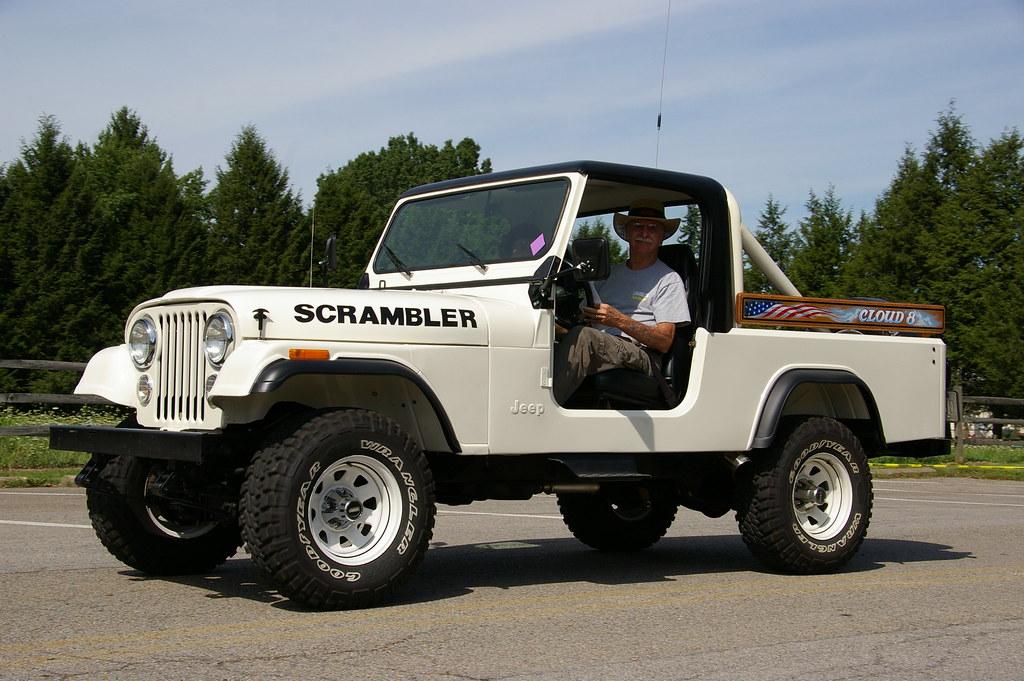 Jeep Brute Double Cab >> Jeep Scrambler - CJ-8 | Inaugural Bantam Jeep Heritage Festi… | Flickr