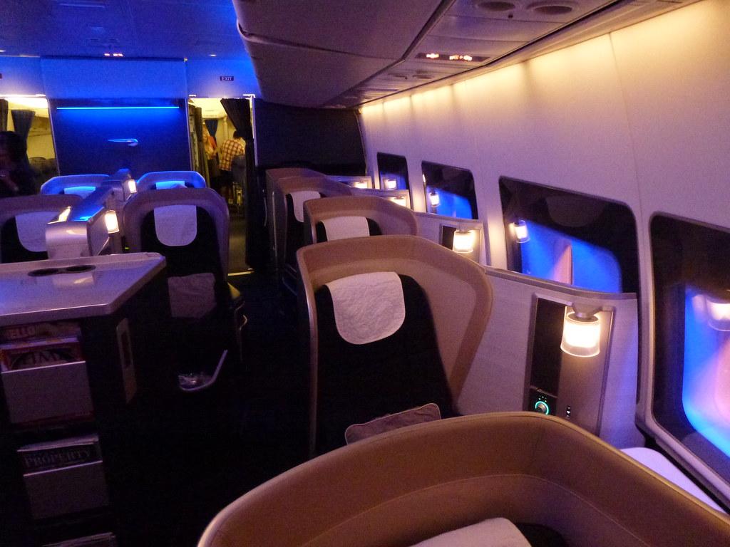 British Airways Ba First Class New Seats Gary Bembridge