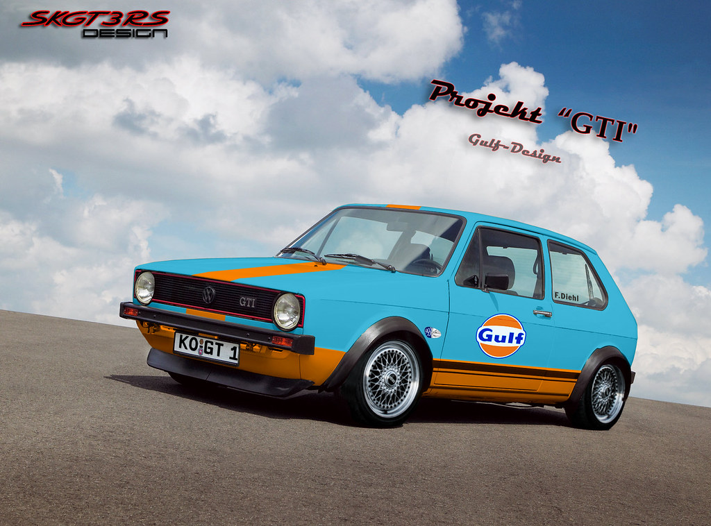 Volkswagen Golf Gti Mk1 Ringtool Gulf Design Skgt3rs