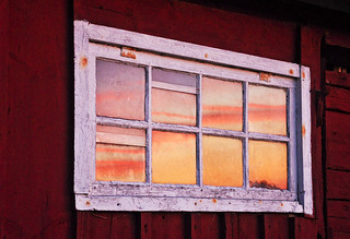 sunset in the window | by gunnel´s
