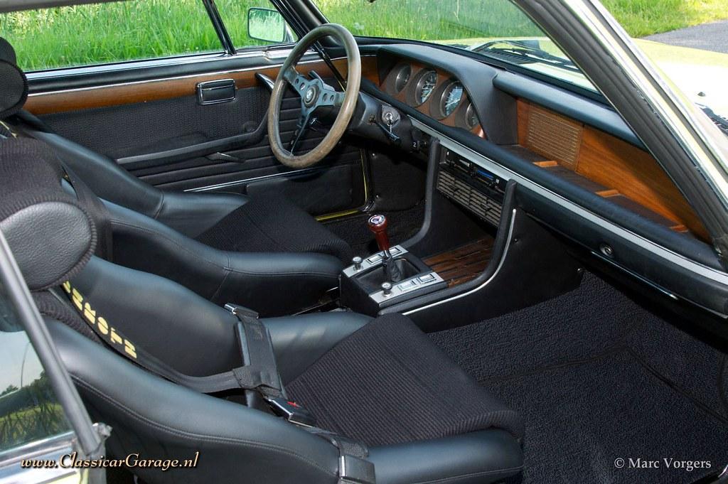 1971 BMW 3.0 CSL Alpina interior | Marc Vorgers | Flickr
