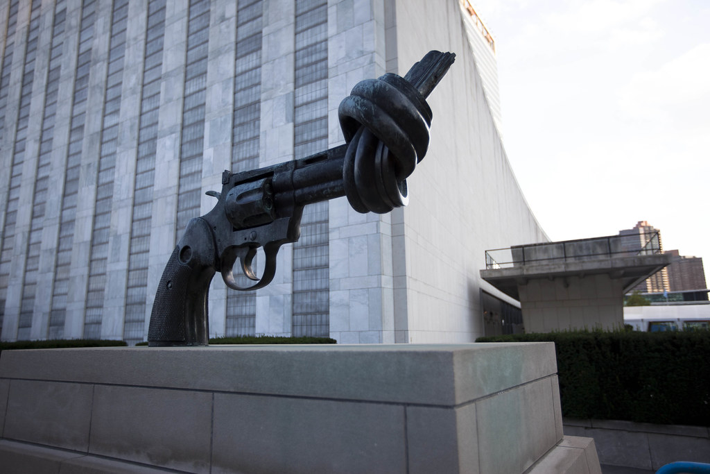 Building Of United Nations In New York