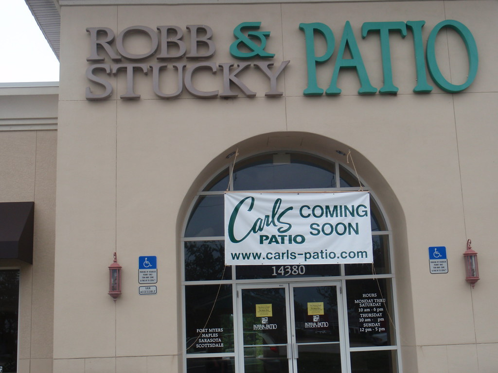 Superbe ... Robb U0026 Stucky Patio To Soon Become Carls Patio (Fort Myers, FL) |