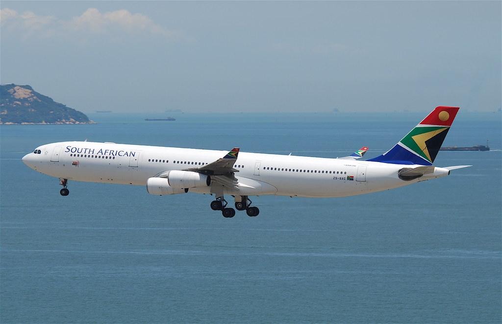 Bildresultat för south african airways airbus