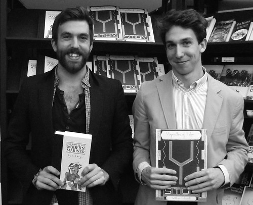 Edinburgh International Book Festival - Nick Hayes & William Goldsmith 09 | by byronv2