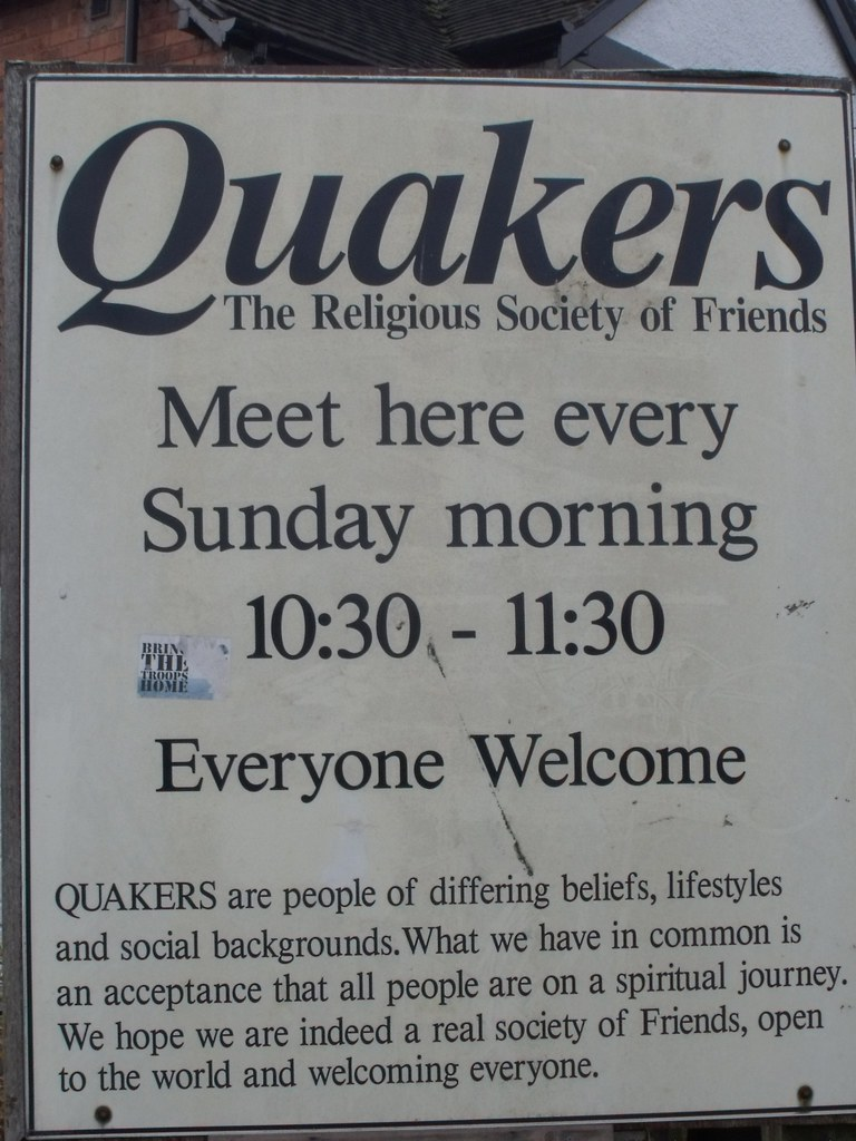 how to start a quaker meeting