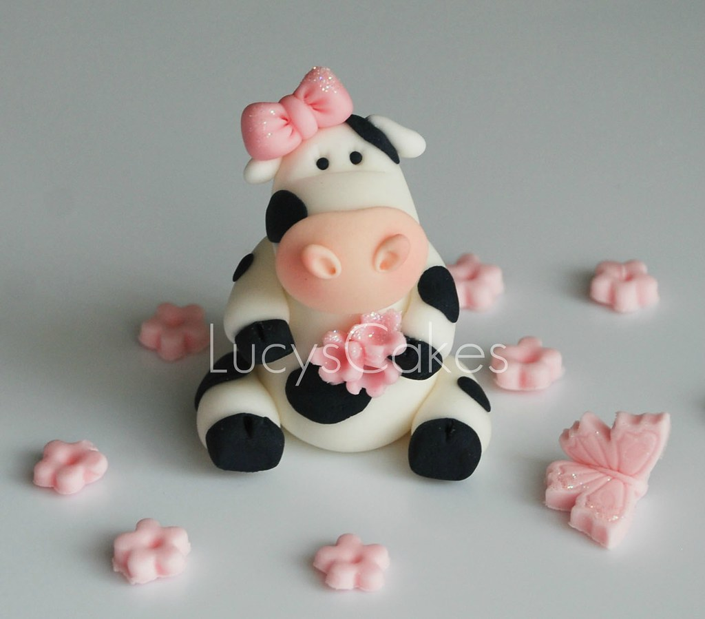 Friesian Cow Cake Topper Visit Me And Like My Facebook