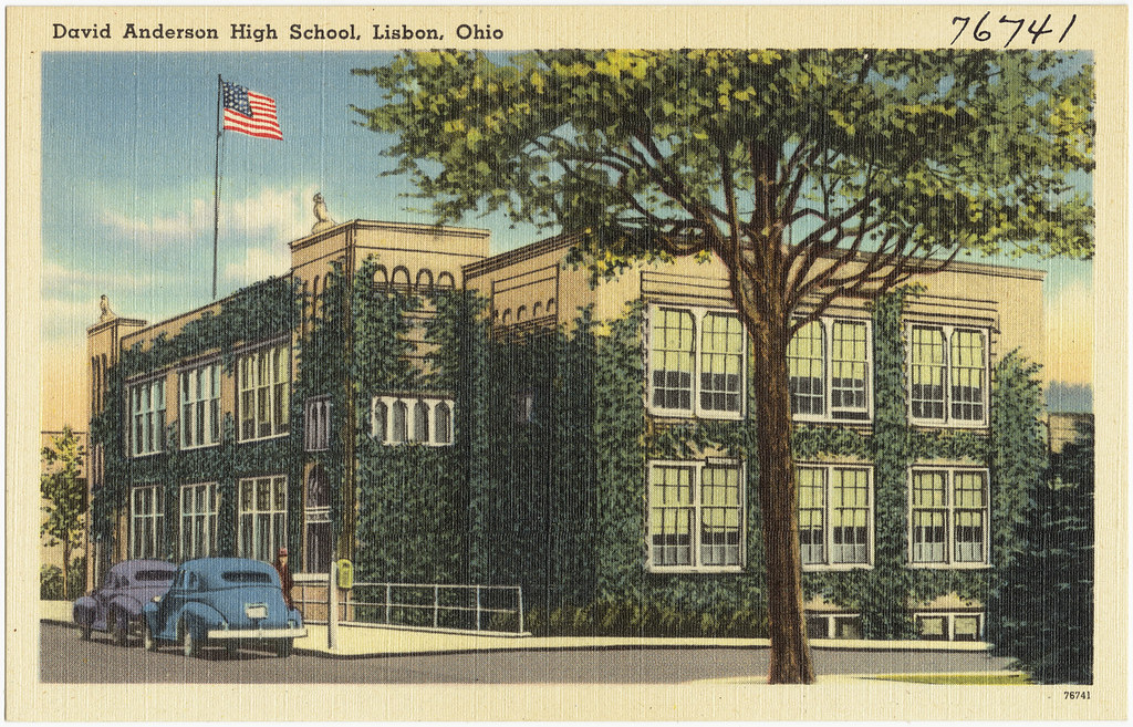 David Anderson High School Lisbon Ohio File Name 0610 Flickr