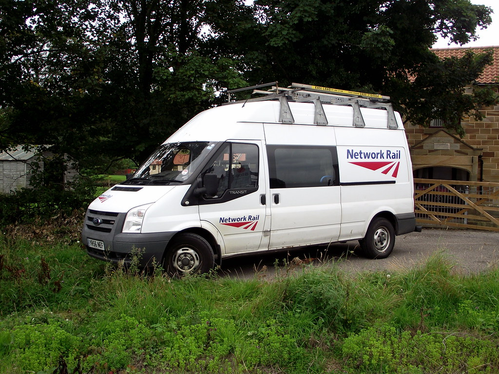 Ford Transit Van >> Network Rail Ford Transit. | A Network Rail Ford Transit van… | Flickr