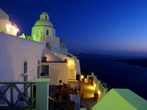 Blue hour in Thira, Santorini | by Frans.Sellies