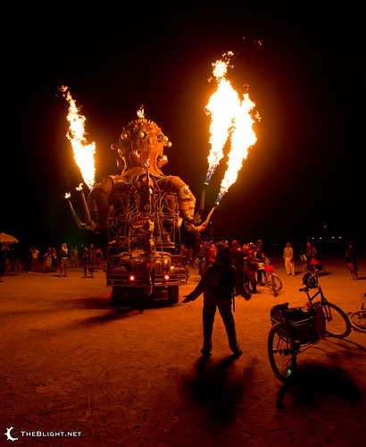 El Pulpo Mechanico at Burning Man 2011 | by mr. nightshade