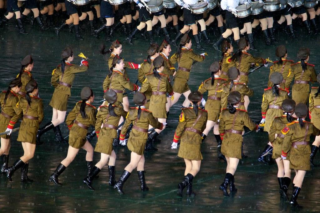 Mass Game Sexy Soldiers - North Korea  Arirang Mass Games -1533