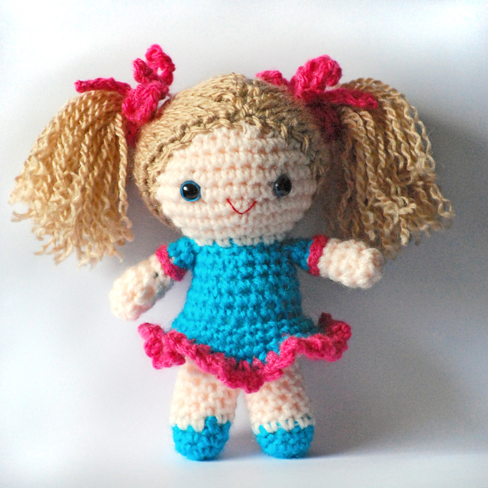 Sally amigurumi doll Thanks to K and J Dolls for the ...