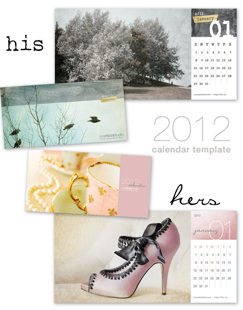 His Hers 2012 Calendar Template Hello Everyone Ive Bee Flickr
