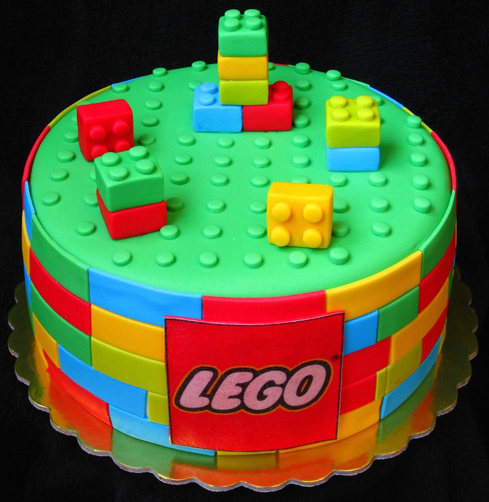 Lego cake | MIna Bakalova | Flickr