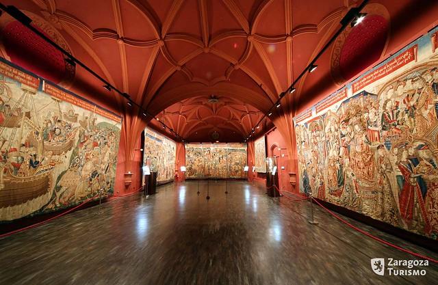 Museo de Tapices de la catedral de San Salvador de Zaragoza  Flickr - Photo ...