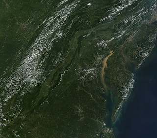 Sediment in the Chesapeake Bay Watershed Seen By Satellite | by NASA Goddard Photo and Video