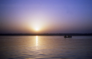 sunrise on the Ganges | by ruffin_ready