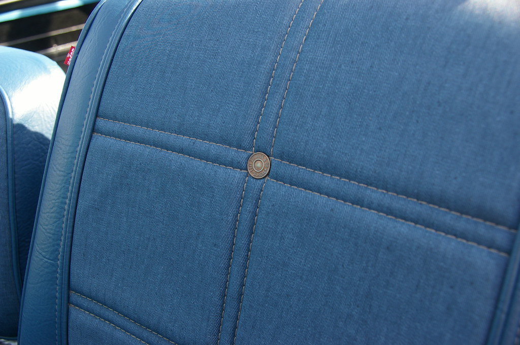 Jeep Renegade Forum >> Jeep CJ-7 Renegade Levi's Button On The Seat | Inaugural ...