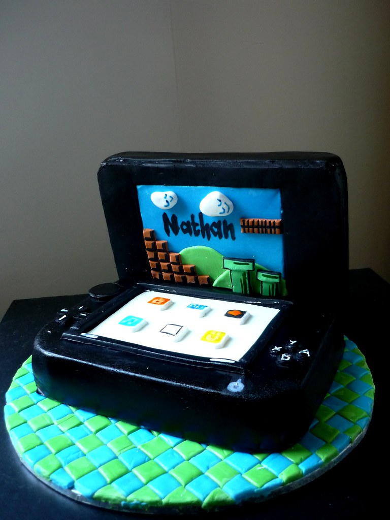 Nintendo Ds Birthday Cakes