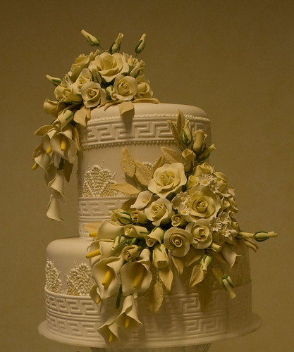 Ivory Rose and Callalily | by O'SHEBA Sugar Flowers