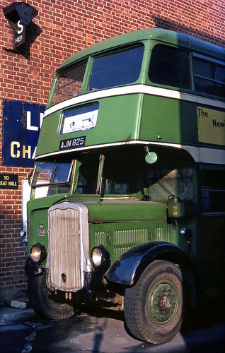 1939 K5G AJN825 at Clapham Museum, 1968. | by David Christie 14