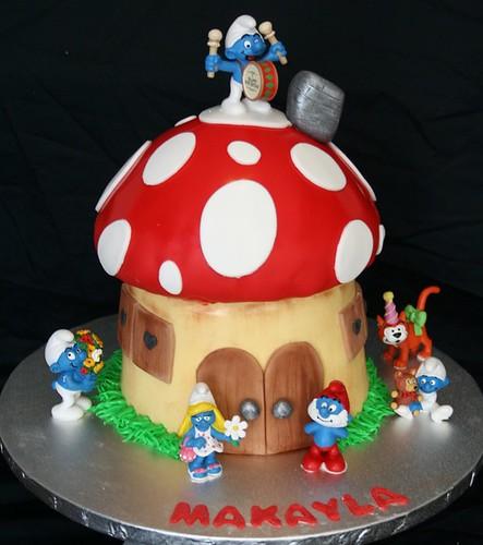 Up Mushroom Cake Pan