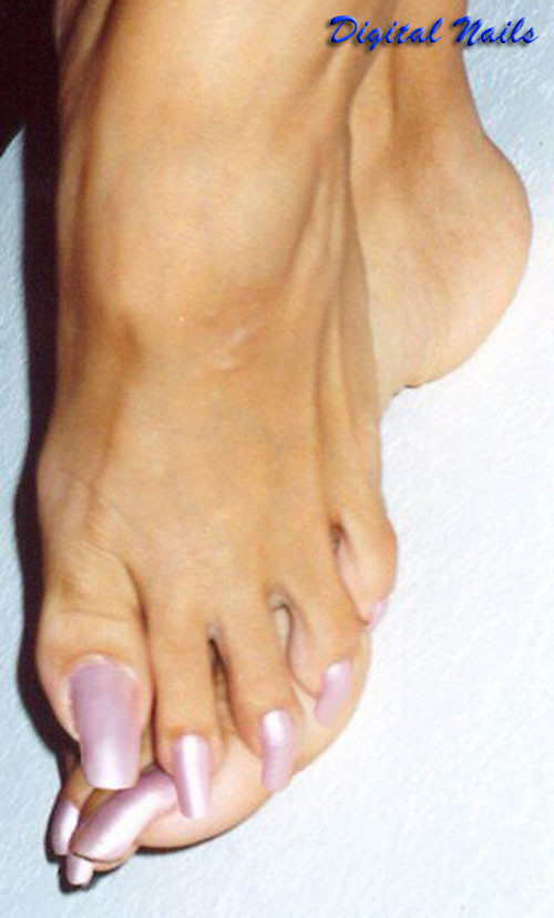 Long Toenails By Digital Nails