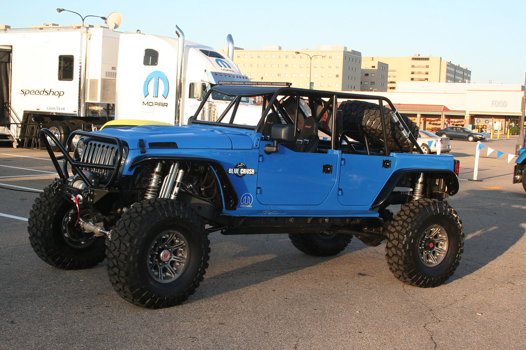 Jeep Wrangler 'Blue Crush'   Part of a Friday morning ...