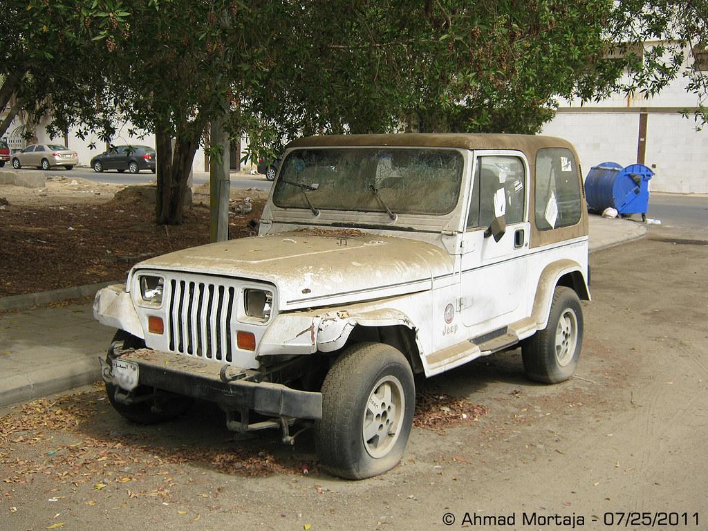 Abandoned Jeep Wrangler Sahara Yj Ahmad Mortaja Flickr
