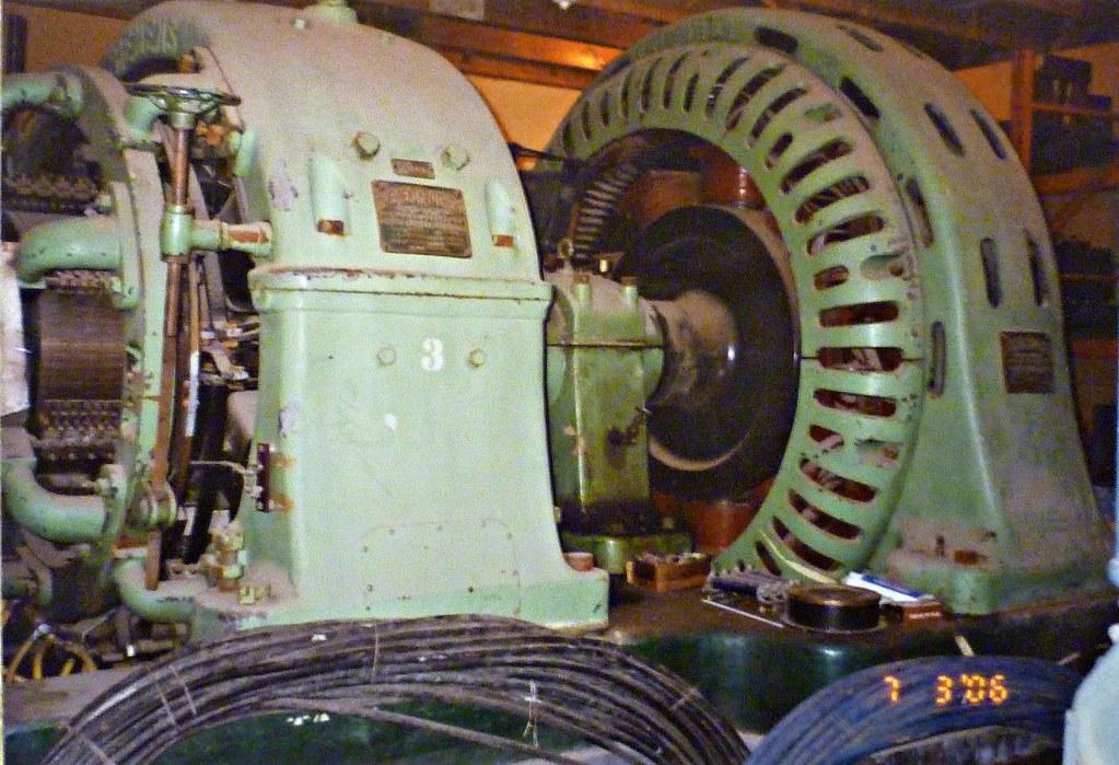 Giant Motor Generator Set Rated 500kw 4kv Ac To 600v Dc