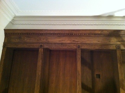 Cabinetry is stained | by johnclarkemills